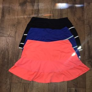 BCG skirts tennis skirts 3 pack